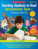 Teaching Students to Read Informational Texts - Independently! (Enhanced eBook)