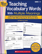 Teaching Vocabulary Words With Multiple Meanings (Enhanced eBook)