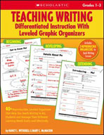 Teaching Writing: Differentiated Instruction With Leveled Graphic Organizers (Enhanced eBook)