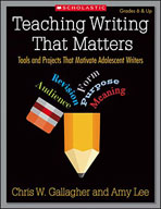 Teaching Writing That Matters (Enhanced eBook)