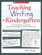 Teaching Writing in Kindergarten (Enhanced eBook)