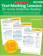 Text-Marking Lessons for Active Nonfiction Reading (Grades