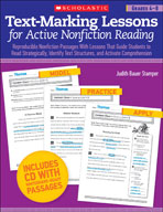 Text-Marking Lessons for Active Nonfiction Reading (Grades 4-8)