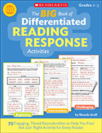The BIG Book of Differentiated Reading Response Activities (Enhanced Ebook)