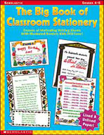 The Big Book of Classroom Stationery: Grades 4-6