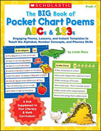 The Big Book of Pocket Chart Poems: ABCs and 123s (Enhanced eBook)