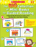 The Big Collection of Mini-Books for Guided Reading (Enhanced eBook)