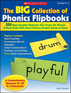 The Big Collection of Phonics Flipbooks