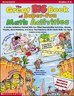 The Great Big Book of Super-Fun Math Activities (Enhanced eBook)