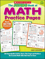 The Jumbo Book of Math Practice Pages (Enhanced eBook)
