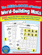 The MEGA-BOOK of Instant Word-Building Mats