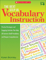 The Next Step in Vocabulary Instruction (Enhanced eBook)