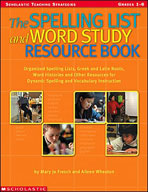 The Spelling List and Word Study Resource Book (Enhanced eBook)