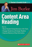 The Teacher's Essential Guide Series: Content Area Reading