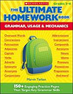 The Ultimate Homework Book: Grammar, Usage and Mechanics