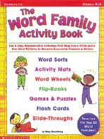 The Word Family Activity Book