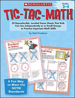 Tic-Tac-Math: Grades 3-4 (Enhanced eBook)