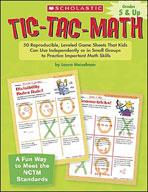 Tic-Tac-Math: Grades 5-8 (Enhanced eBook)