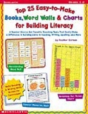 Top 25 Easy-To-Make Books, Word Walls, and Charts for Building Literacy (Enhanced eBook)