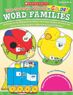 Turn-to-Learn Wheels in Color: Word Families (Enhanced eBook)
