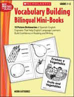 Vocabulary-Building Bilingual Mini-Books (Enhanced eBook)