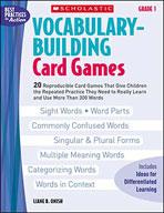 Vocabulary-Building Card Games: Grade 1 (Enhanced eBook)