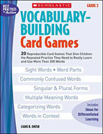 Vocabulary-Building Card Games: Grade 2