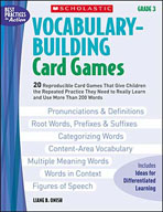 Vocabulary-Building Card Games: Grade 3 (Enhanced eBook)