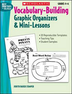 Vocabulary-Building Graphic Organizers and Mini-Lessons (Enhanced eBook)