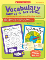 Vocabulary Games and Activities That Boost Reading and Writing Skills (Enhanced eBook)