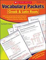 Vocabulary Packets: Greek & Latin Roots (Enhanced eBook)