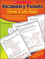 Vocabulary Packets: Greek & Latin Roots (Enhanced eBook)