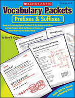 Vocabulary Packets: Prefixes and Suffixes (Enhanced eBook)