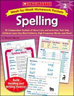 Week-by-Week Homework Packets: Spelling (Grade 2) (Enhanced eBook)