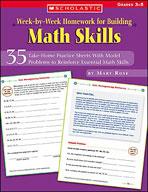 Week-by-Week Homework for Building Math Skills (Enhanced eBook)
