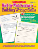 Week-by-Week Homework for Building Writing Skills