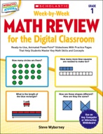 Week-by-Week Math Review for the Digital Classroom: Grade 1 (Enhanced Ebook)