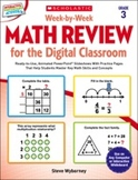Week-by-Week Math Review for the Digital Classroom: Grade 3 (Enhanced Ebook)