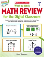 Week-by-Week Math Review for the Digital Classroom: Grade 4 (Enhanced Ebook)