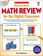 Week-by-Week Math Review for the Digital Classroom: Grade 5 (Enhanced Ebook)