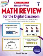 Week-by-Week Math Review for the Digital Classroom: Grade 6 (Enhanced Ebook)