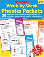 Week-by-Week Phonics Packets (Enhanced eBook)