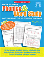 Week-by-Week Phonics and Word Study Activities for the Intermediate Grades (Enhanced eBook)