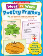 Week-by-Week Poetry Frames  (Enhanced eBook)