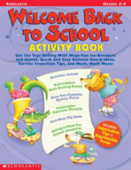 Welcome Back to School Activity Book