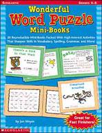 Wonderful Word Puzzle Mini-Books (Enhanced eBook)