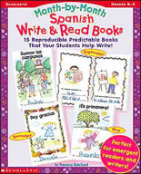 Write and Read Books Month-by-Month Spanish (Enhanced eBook)