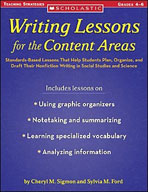 Writing Lessons for the Content Areas (Enhanced eBook)