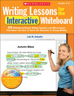 Writing Lessons for the Interactive Whiteboard: Grades 2-4 (Enhanced eBook)