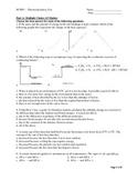 SCH4U - Thermochemistry Test